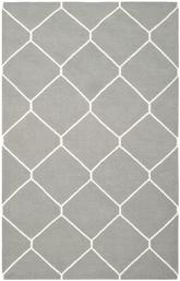 Safavieh Dhurries DHU635B Grey and Ivory