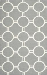 Safavieh Dhurries DHU636B Grey and Ivory