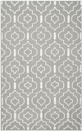 Safavieh Dhurries DHU637B Grey and Ivory