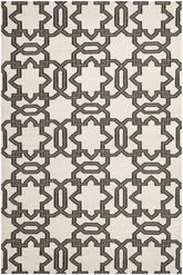 Safavieh Dhurries DHU751A Ivory and Grey