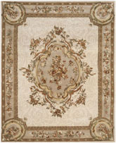 Safavieh Empire EM414C Ivory and Light Grey