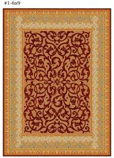 Safavieh Empire EM425A Brown and Blue
