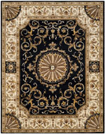 Safavieh Empire EM459D Black and Ivory