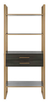 SKYLAR 4 TIER 1 DRAWER ETAGERE
