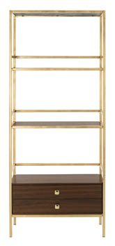 MATEO 4 TIER 1 DRAWER ETAGERE
