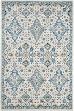 Safavieh Evoke EVK224C Ivory and Light Blue