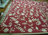Safavieh DuraRug EZC415A Red and Gold