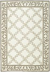 Safavieh DuraRug EZC430B Ivory and Sage
