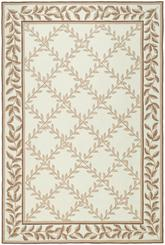 Safavieh DuraRug EZC430C Ivory and Beige