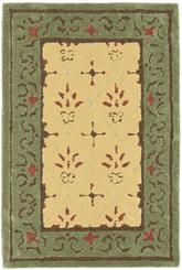Safavieh DuraRug EZC479B Beige and Red