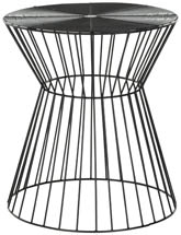 ADELE WIRE STOOL