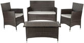 MOJAVI 4 PC WICKER SET