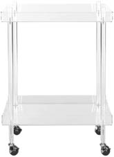 HEALY ACRYLIC KITCHEN CART