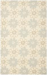Safavieh Four Seasons FRS220A Ivory and Light Blue