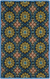 Safavieh Four Seasons FRS426A Black and Blue