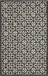Safavieh Four Seasons FRS448A Black and Ivory