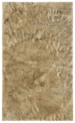 Safavieh Faux Sheep Skin FSS438B Light Grey and Black