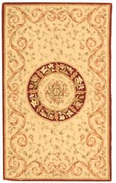 Safavieh French Tapis FT224A Beige and Dark Red
