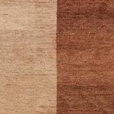 Safavieh Gabbeh GB211A Light Brown and Dark Brown