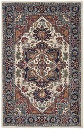 Safavieh Heritage HG163A Ivory and Blue