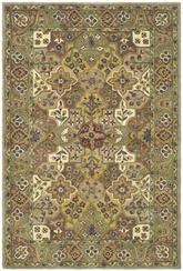 Safavieh Heritage HG165A Taupe and Green