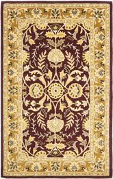 Safavieh Heritage HG261C Red and Gold