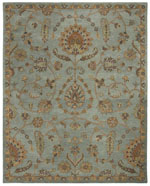 Safavieh Heritage HG274A Light Blue and Multi