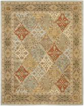 Safavieh Heritage HG316C Light Blue and Light Brown