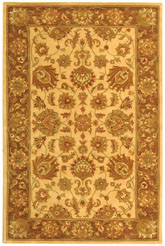 Safavieh Heritage HG343D Ivory and Brown