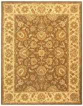 Safavieh Heritage HG343K Brown and Ivory
