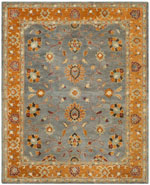 Safavieh Heritage HG401A Blue and Orange