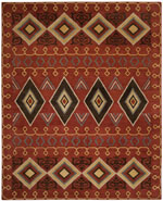 Safavieh Heritage HG404A Red and Multi