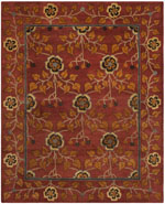 Safavieh Heritage HG407A Red and Multi