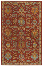 Safavieh Heritage HG417Q Red and Multi