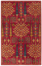 Safavieh Heritage HG418Q Red and Multi