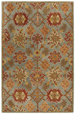 Safavieh Heritage HG420H Charcoal and Multi