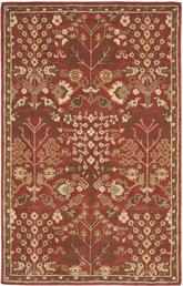 Safavieh Heritage HG421A Red and Green