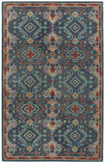 Safavieh Heritage HG422M Blue and Multi