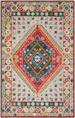 Safavieh Heritage HG425F Grey and Red