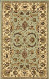 Safavieh Heritage HG453A Light Green and Ivory
