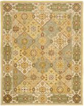 Safavieh Heritage HG512C Multi and Ivory