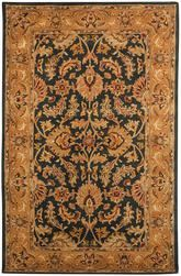Safavieh Heritage HG628A Dark Green and Gold
