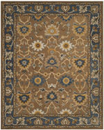 Safavieh Heritage HG652A Camel and Blue