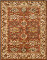 Safavieh Heritage HG734D Rust and Beige