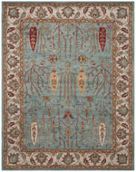 Safavieh Heritage HG735A Blue and Ivory