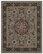 Safavieh Heritage HG736A Grey and Charcoal