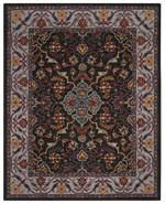 Safavieh Heritage HG737A Charcoal and Ivory