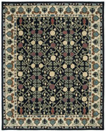 Safavieh Heritage HG740N Navy and Ivory