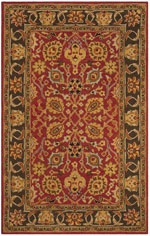 Safavieh Heritage HG745Q Red and Gold