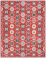 Safavieh Heritage HG746Q Red and Blue